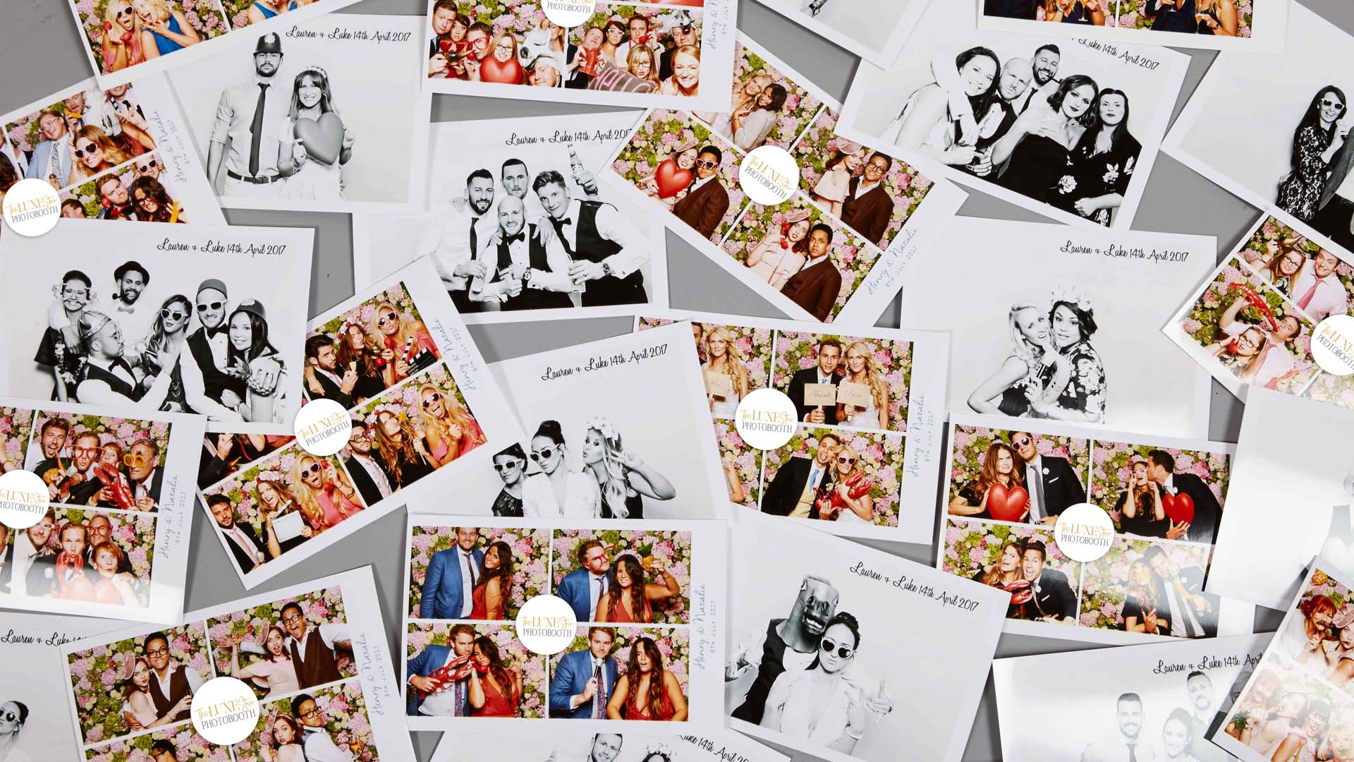 LUXEStar photo booth hire prints