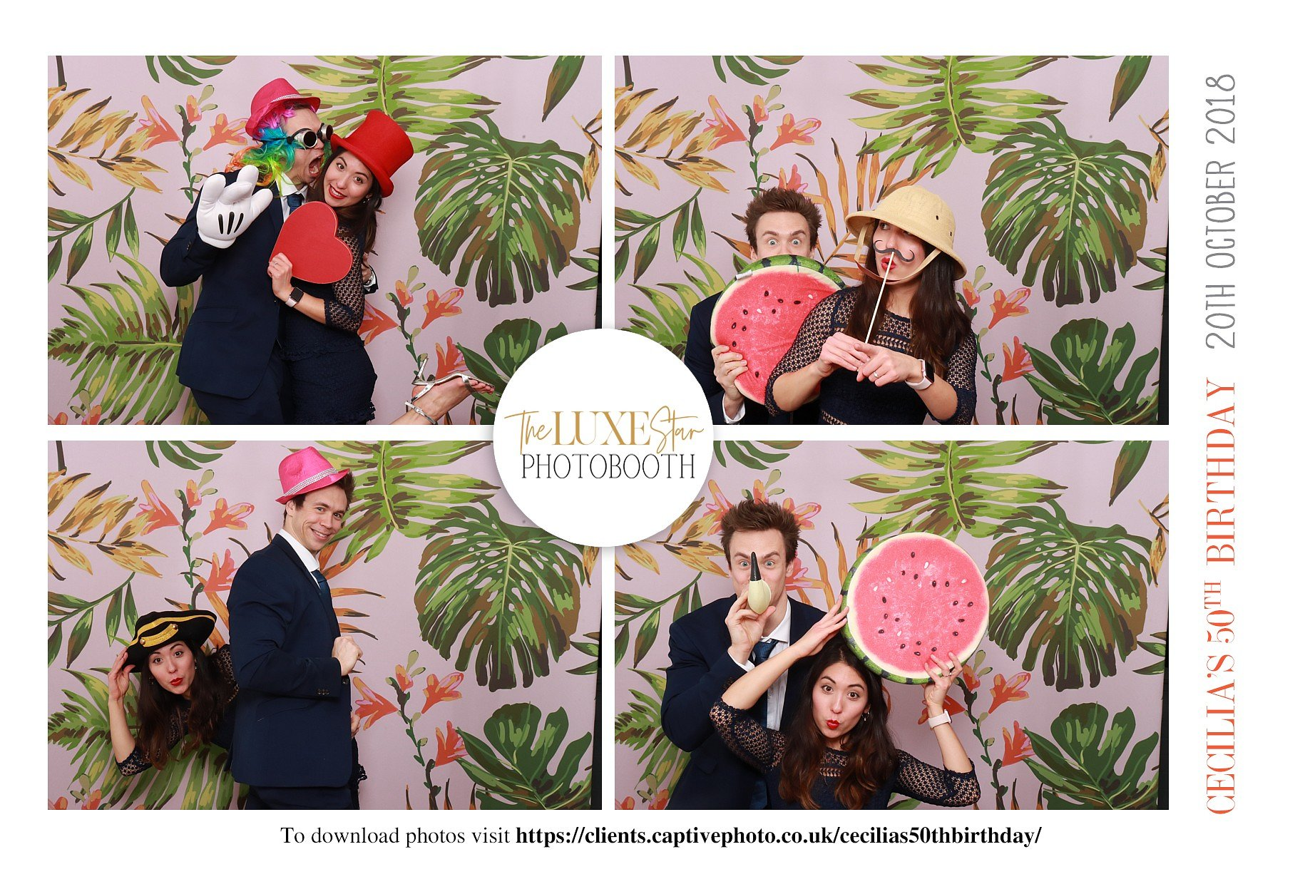 photo booth for luxury events & weddings