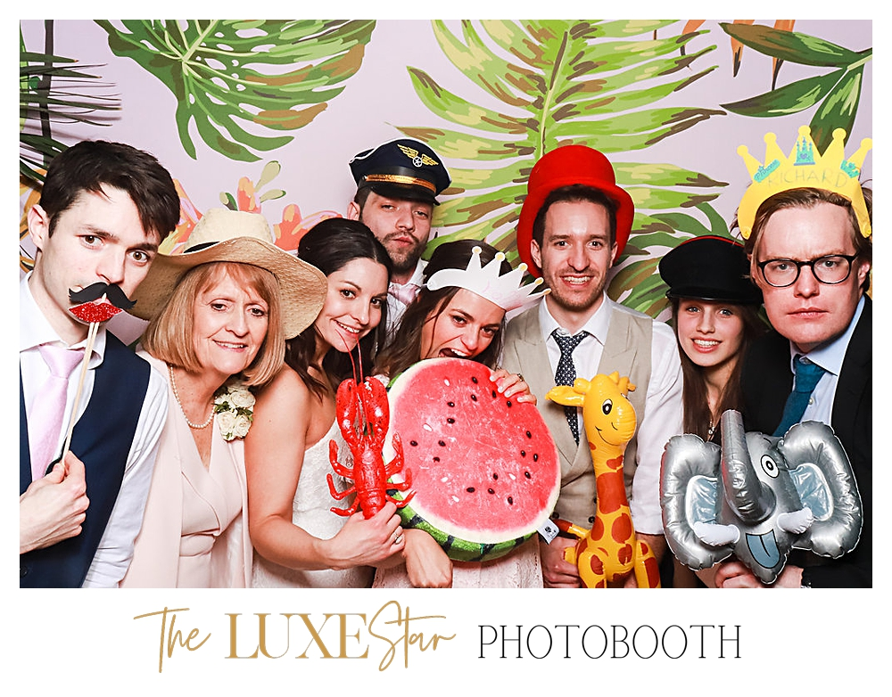 Luxury photo booth for hire